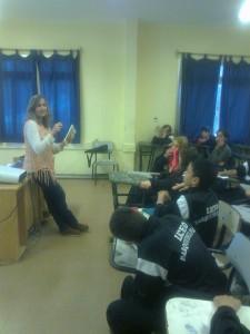 En el liceo de Parque del Plata