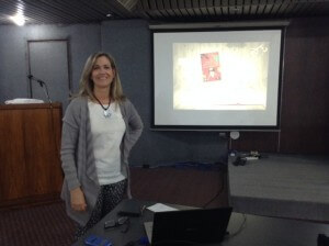 Presentación de la novela en la Feria del Libro 2015