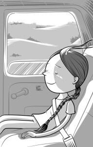 """Illustración de Oscar Scotellaro para """"Nayla y el misterio XO"""""""