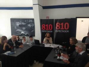 """Tertulia completa, con Rosario Castellanos, Ana Ribeiro, Juan Grompone, Carlos Maggi y una """"convidada de piedra"""""""