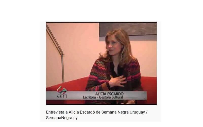 Alicia Escardó nota Jaime Clara