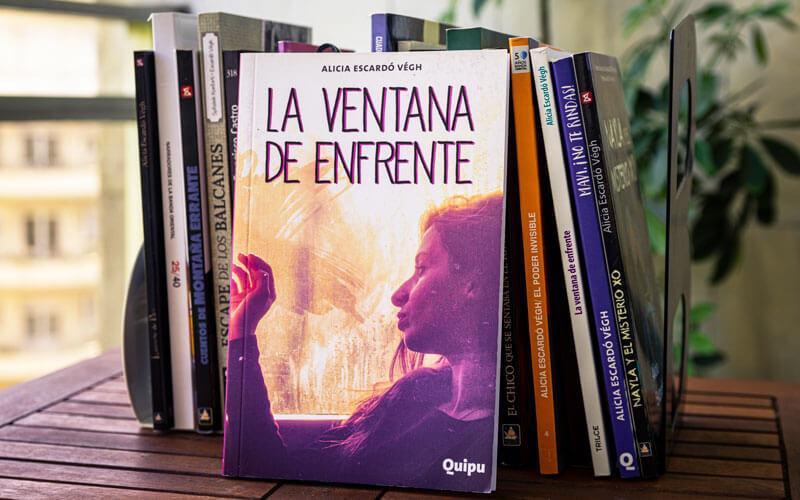 Libro La ventana de enfrente por Alicia Escardó Végh