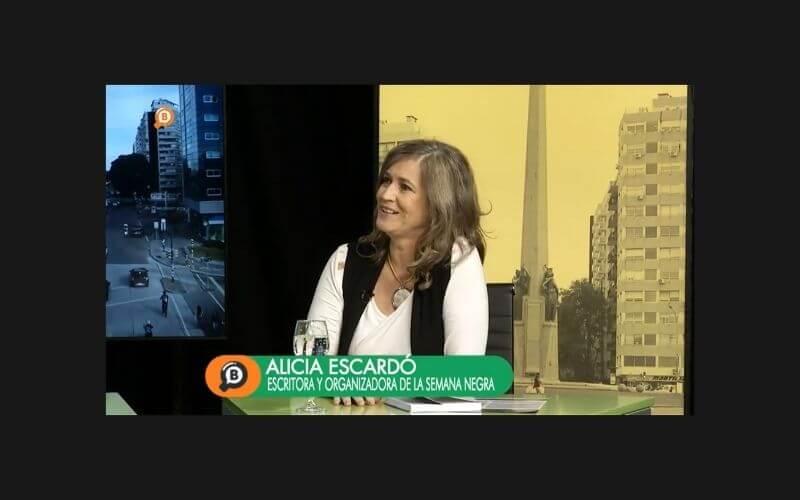 Alicia Escardo nota TV Buscadores