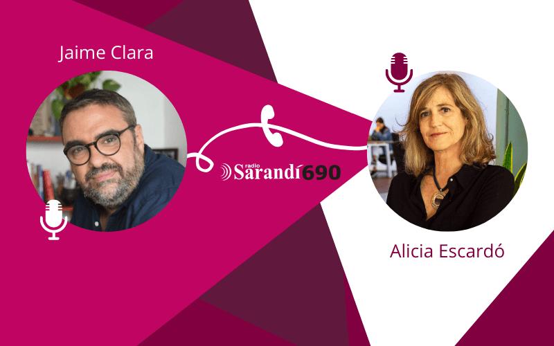 Programa con Jaime Clara - Alicia Escardó