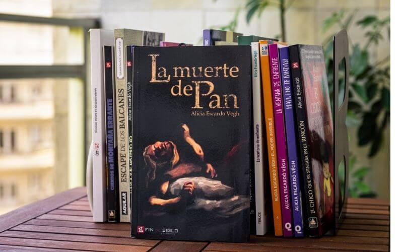 Novela la muerte de pan - ALicia Escardó